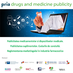 Conferința PRIA Drugs and Medicine Publicity